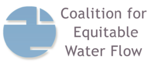 Coalition for Equitable Water Flow logo